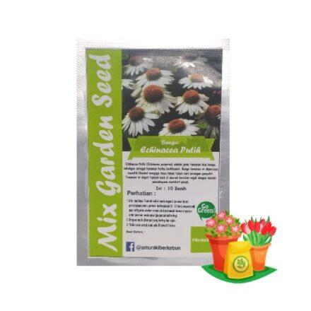 benih bunga echinacea putih mgs