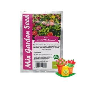 benih bunga zinnia mgs