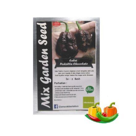 Benih Cabe Podzilla Chocolate Mgs 440x440, Sae Garden