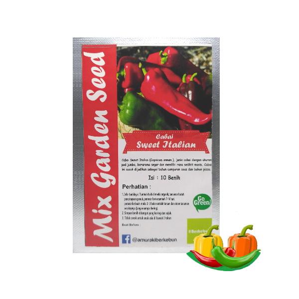 benih cabe sweet italian mgs