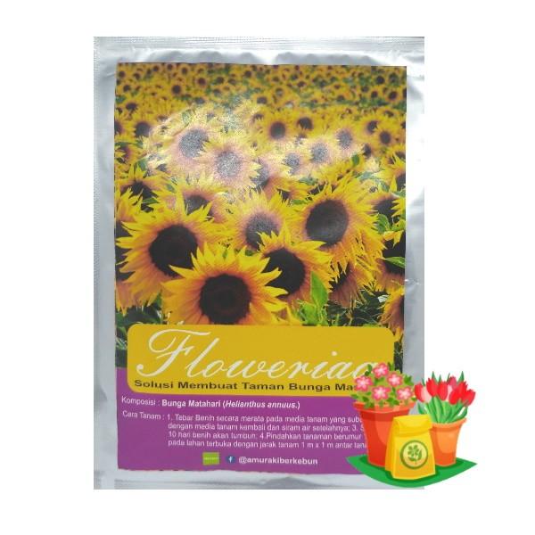 paket benih bunga matahari